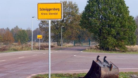 Bundeswehr-Übungsstadt Schnöggersburg in der Altmark
