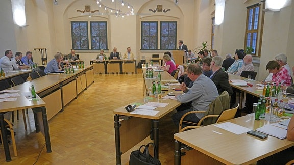 Frauen und Männer im Stadtrat