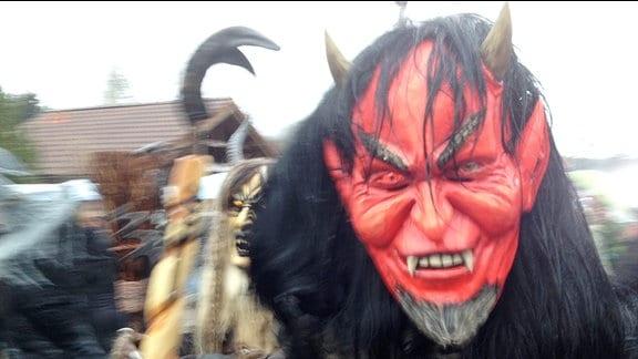 Hexen feiern in Schierke die Walpurgisnacht.