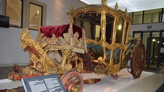 Bilder aus einer Aussellung im Verkehrsmuseum Dresden