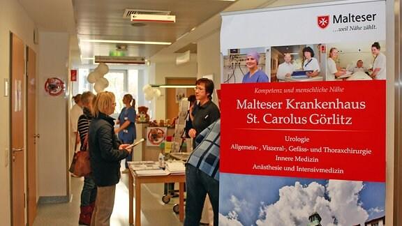 Diagnostikvormittag in der Abteilung Endoskopie und Funktionsdiagnostik des Malteser Krankenhaus St. Carolus im November 2018