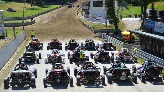 Autocross-EM auf der Matschenberg Offroad Arena Cunewalde