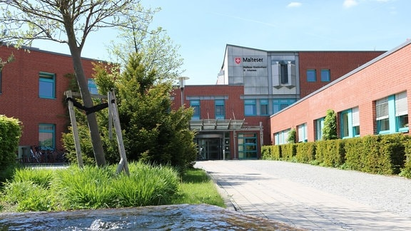 Das Malteser Krankenhaus St. Johannes in Kamenz.