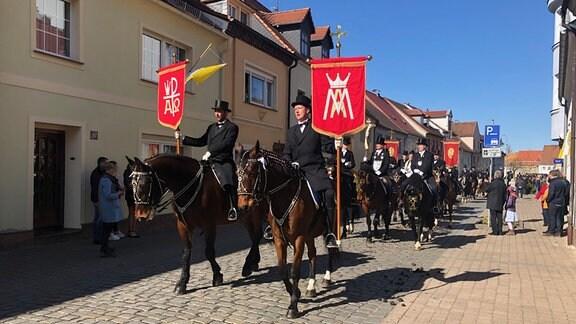 Osterreiter in Wittichenau