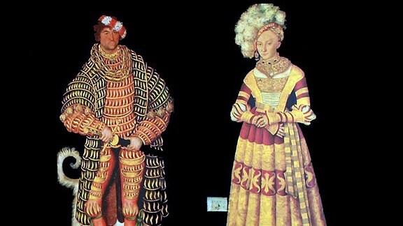Heinrich der Fromme und Katharina von Mecklenburg