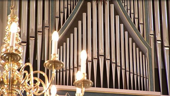Torgau Schlosskapelle Orgel