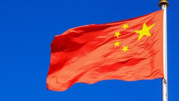 Die Flagge Chinas