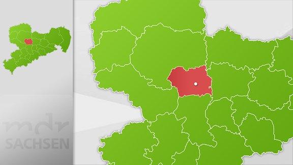 Karte Region Döbeln