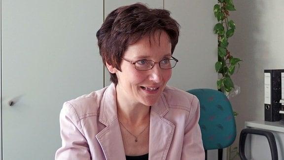 Die Festivalorganisatorin Carola Schlegel