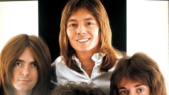 Die britische Pop/Rock Band SMOKIE, ca. 1972