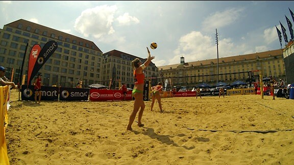 Beachvolleyball Dresden