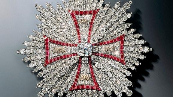 Schmuckstücke aus dem Juwelenzimmer der Staatlichen Kunstsammlungen Dresden (SKD)