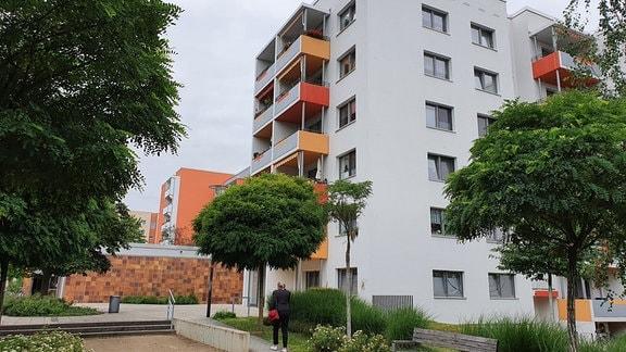 In Dresden-Gorbitz hat die EWG Neubauwohnungen altersgerecht umgebaut.