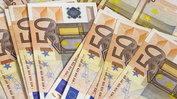 50 Euro Scheine Geld