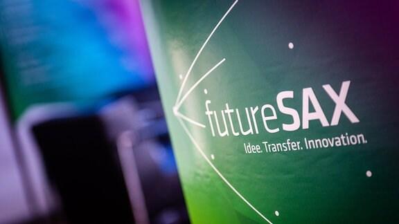 FutureSax-Schriftzug
