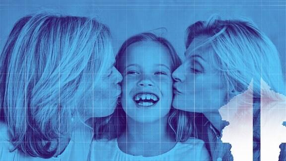Tochter, Mutter und Oma
