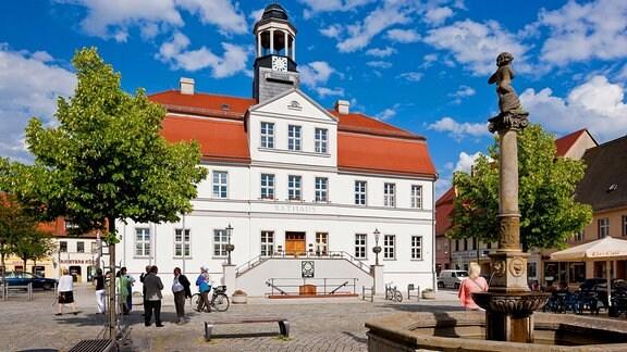 Rathaus am Markt von Bad Düben