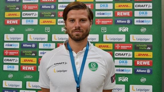 Ein Handballer.