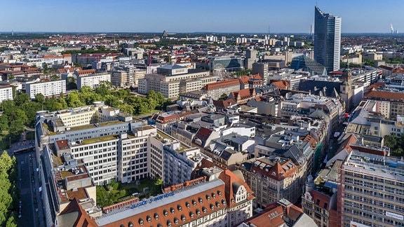 Zentrum von Leipzig