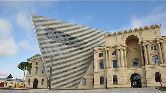 Das Militärhistorische Museum in Dresden.