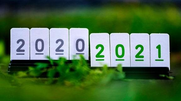 Jahreswechsel 2020/21 Symbolfoto