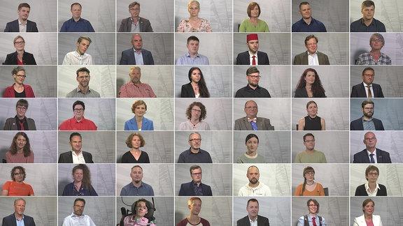 Auswahl einiger Kandidatinnen und Kandidaten zur Bundestagswahl 2021