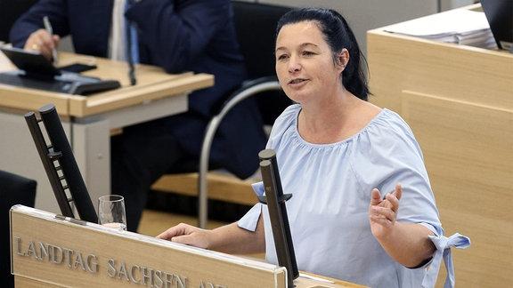 Doreen Hildebrandt, Die Linke, Sachsen Anhalt