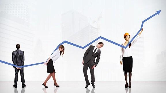 Symbolbild - Unternehmenswachstum