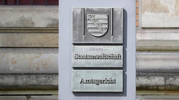 Das Amtsgericht und Sitz der Staatsanwaltschaft Zwickau