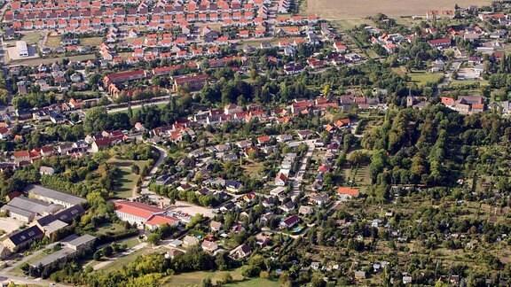 Luftaufnahme Teutschenthal