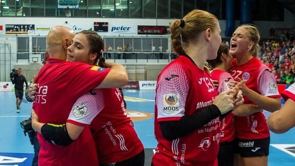 Das Team des Thüringer HC