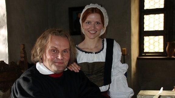 Devid Striesow als Martin Luther und Karoline Schuch als Katharina von Bora