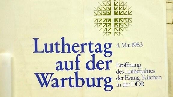 Lutherjahr 1983 pROGRAMMHEFT