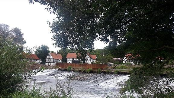 Die Weiße Elster bei Wünschendorf