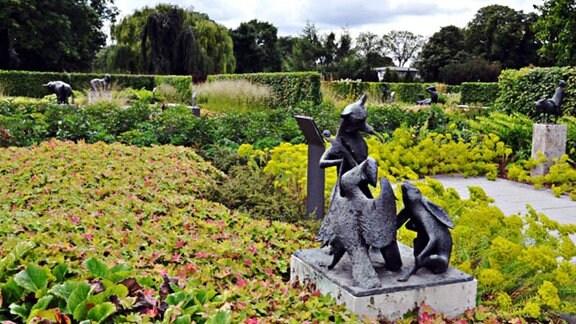 Skulpturen im egapark