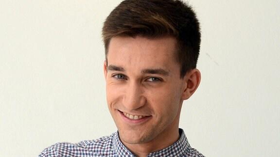 MDR THÜRINGEN-Reporter Jonas Wölke