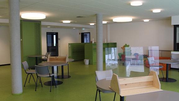 JVA Chemnitz, Aufenthaltsraum