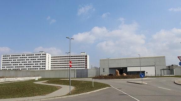 JVA Chemnitz, Außenansicht