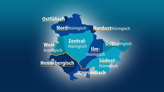 Thüringer Dialekte