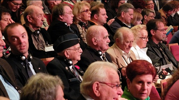 Zahlreiche Zeitzeugen nahmen an dem Europäischen Gedenkakt teil.