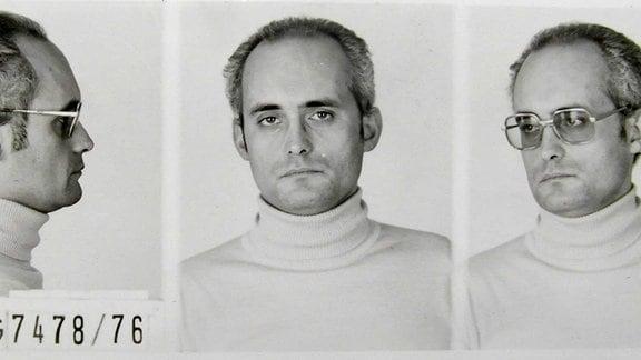Polizeifotos zeigen Udo Albrecht