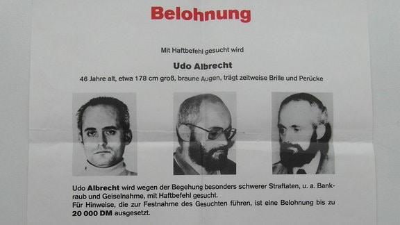 Steckbrief von Udo Albrecht