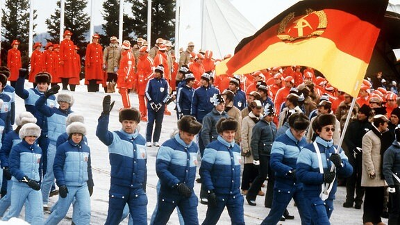 Lake Placid DDR Olympische Winterspiele 1980