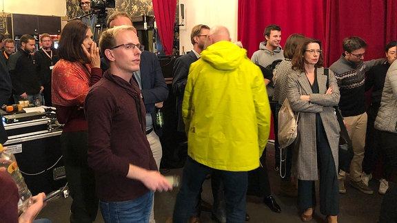 Wahlparty der Grünen