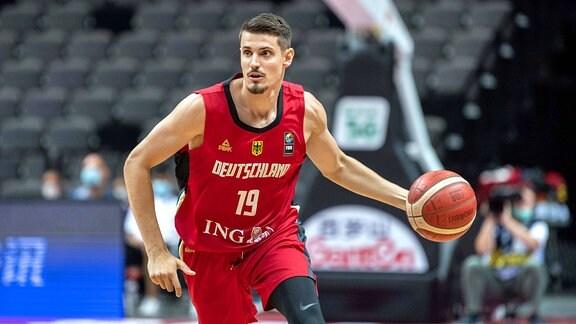 Basketballer Lukas Wank