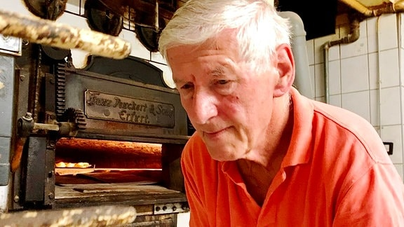 Bäcker Wigbert Weißleder