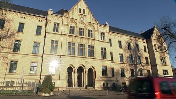 Das Erfurter Landgericht von außen