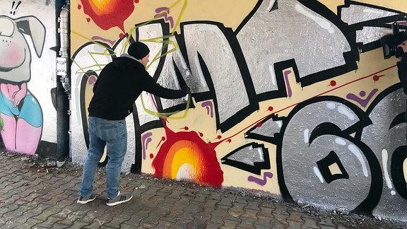 Graffiti in Erfurt