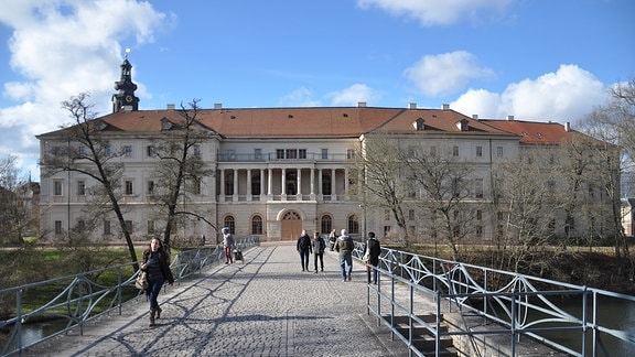 Das Stadtschloss bzw. Residenzschloss von Weimar
