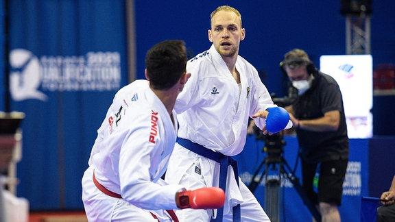 Karate-Kämpfer Noah Bitsch